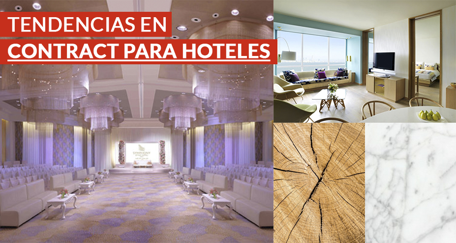 Tendencias en contract para hoteles