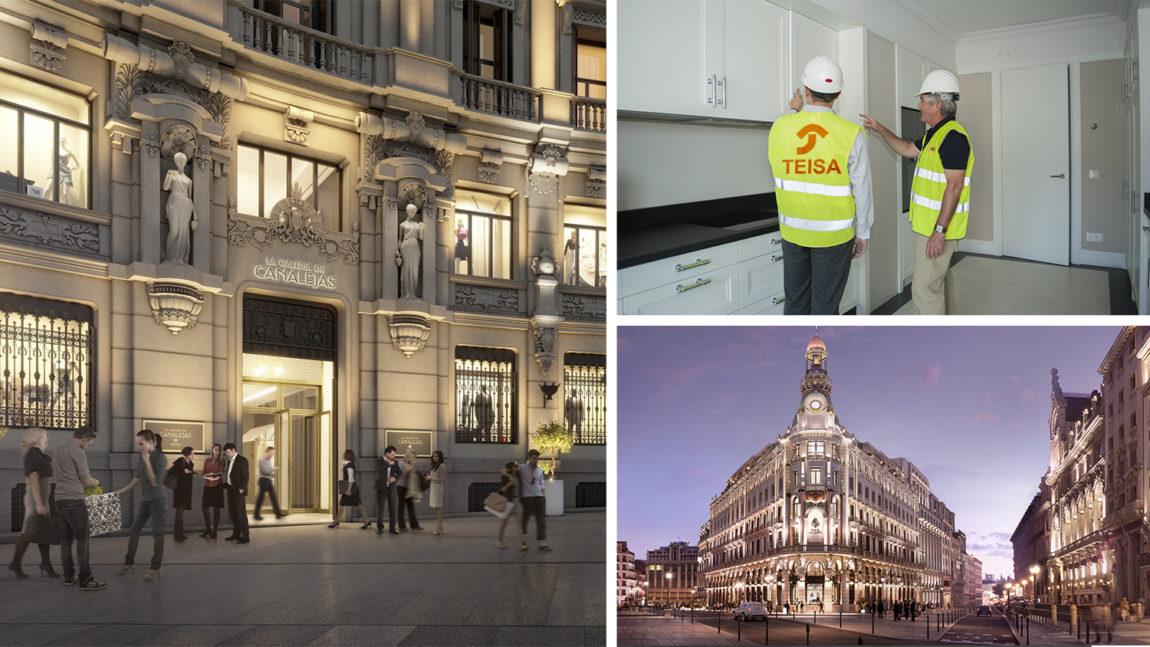 Teisa en el Centro Canalejas: el complejo más lujoso de todo Madrid