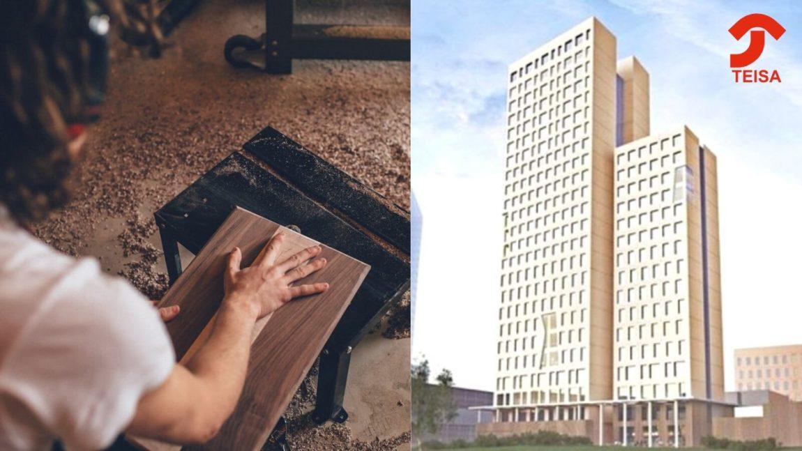 Nuevas salidas para la arquitectura con madera, un material de futuro