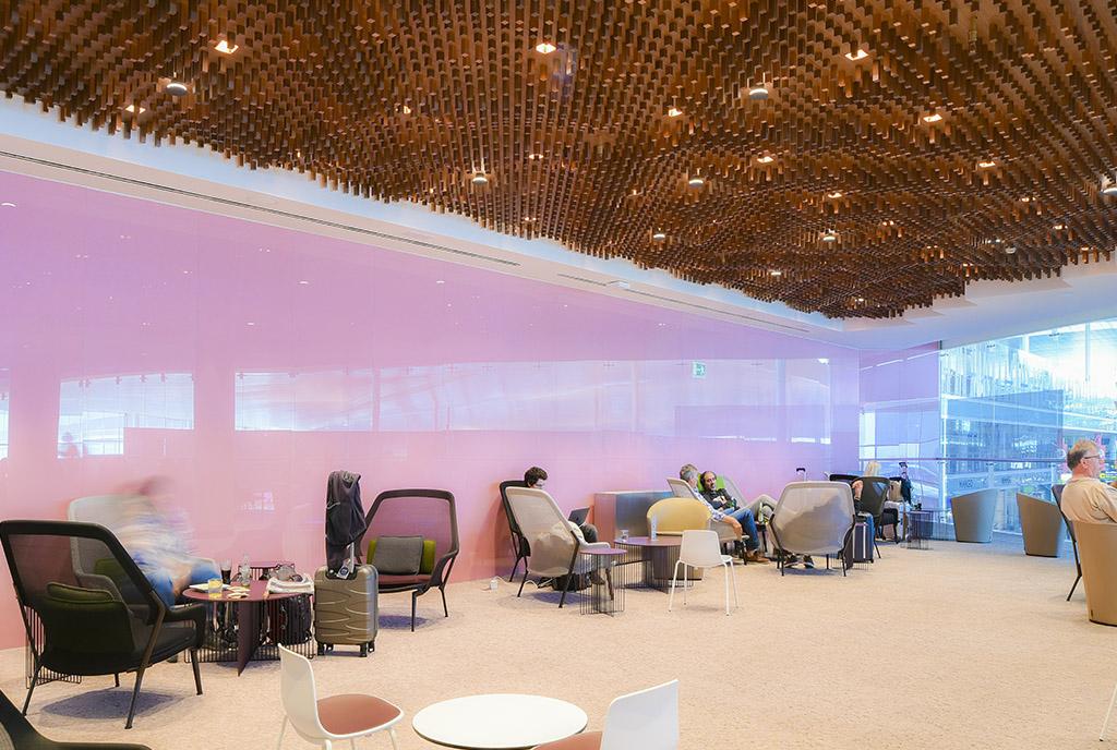 Construcción de las salas VIP del aeropuerto de Barcelona