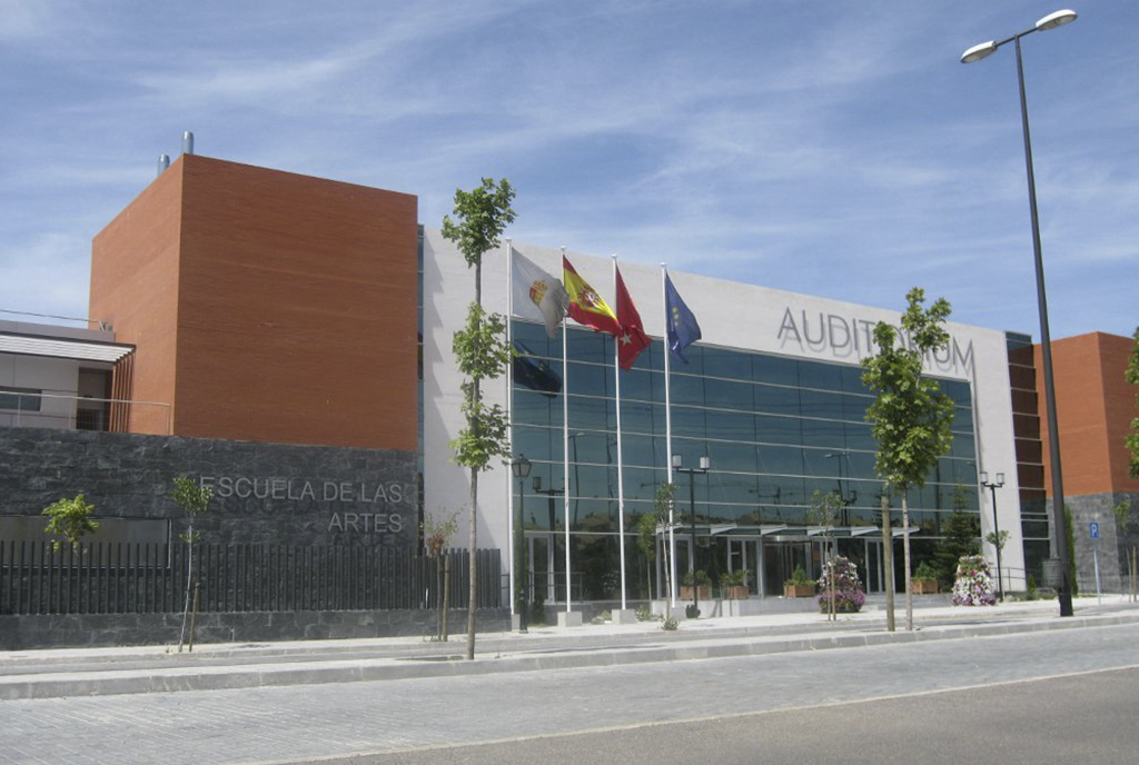 Auditorio de Arroyomolinos en Madrid