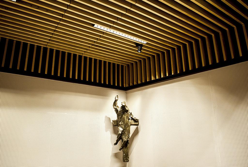 Auditorio del Santuario de Loyola, empanelados acústicos