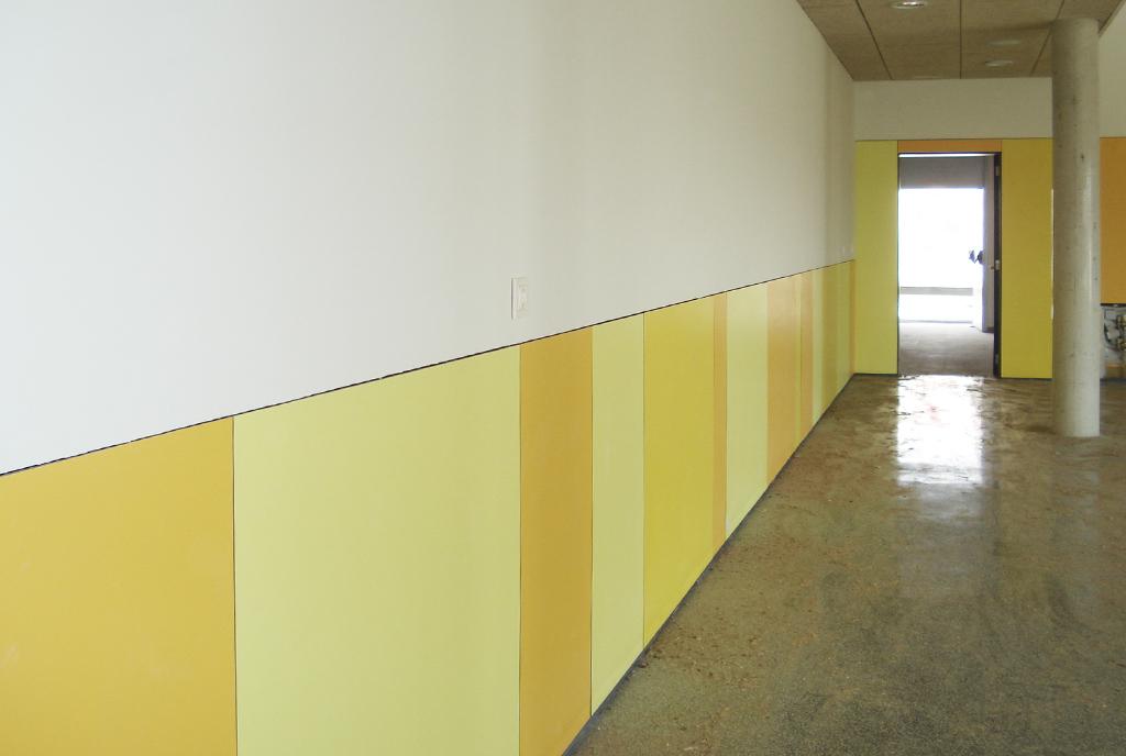 Empanelados del colegio Villalobón en Palencia