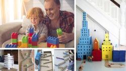 6 juegos de construcción para hacer en casa con niños en la cuarentena