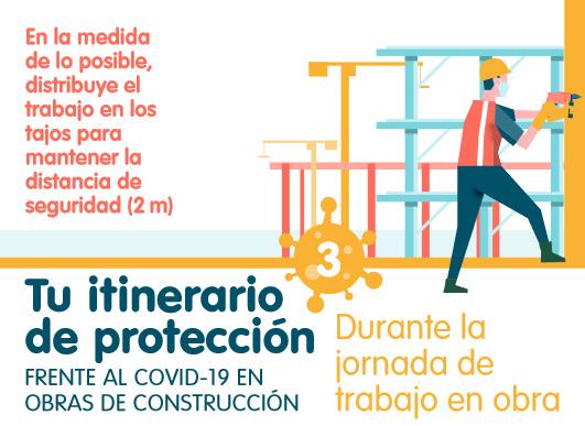 Protección frente al covid en obras y construccion