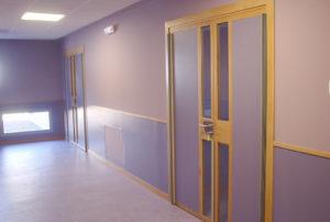 Puertas de paso especiales para colegios y otras edificaciones