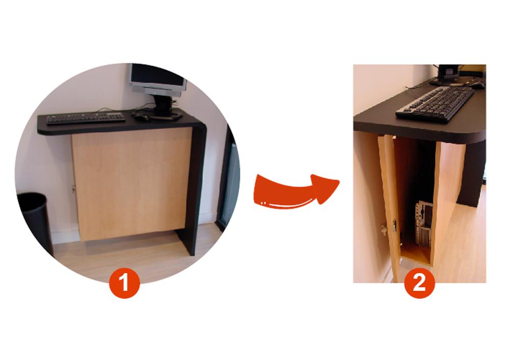 Mostradores y mobilario para oficinas