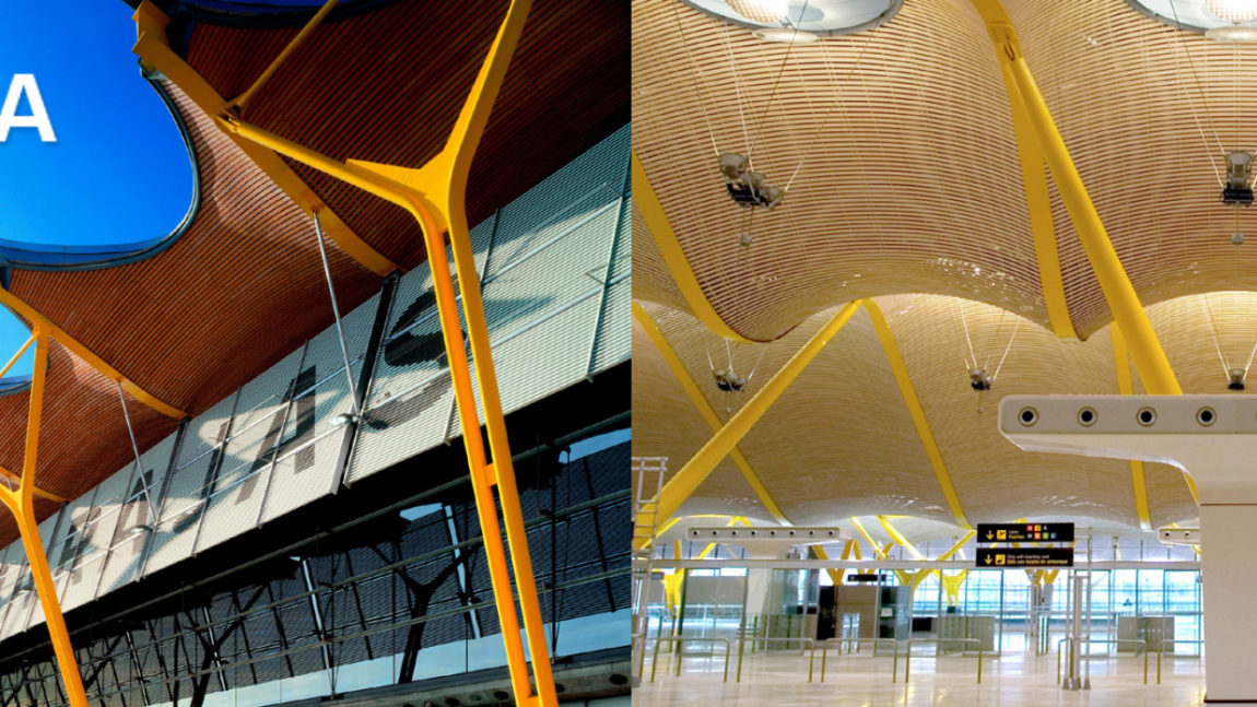 Aeropuertos: Arte e ingeniería