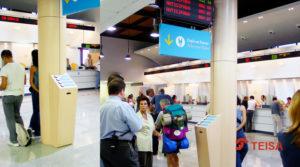 Estación Atocha trabajos Teisa