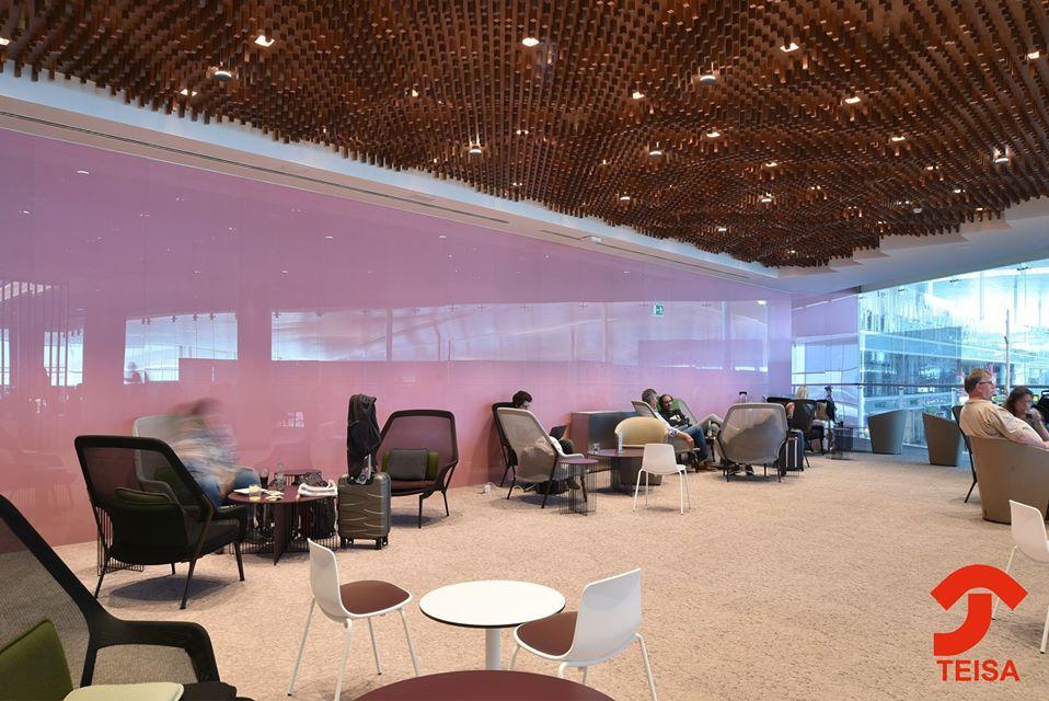 Sala VIP Lounge Pau Casals trabajos Teisa