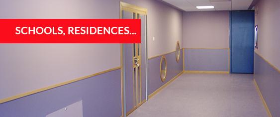 Teisa schools & residences