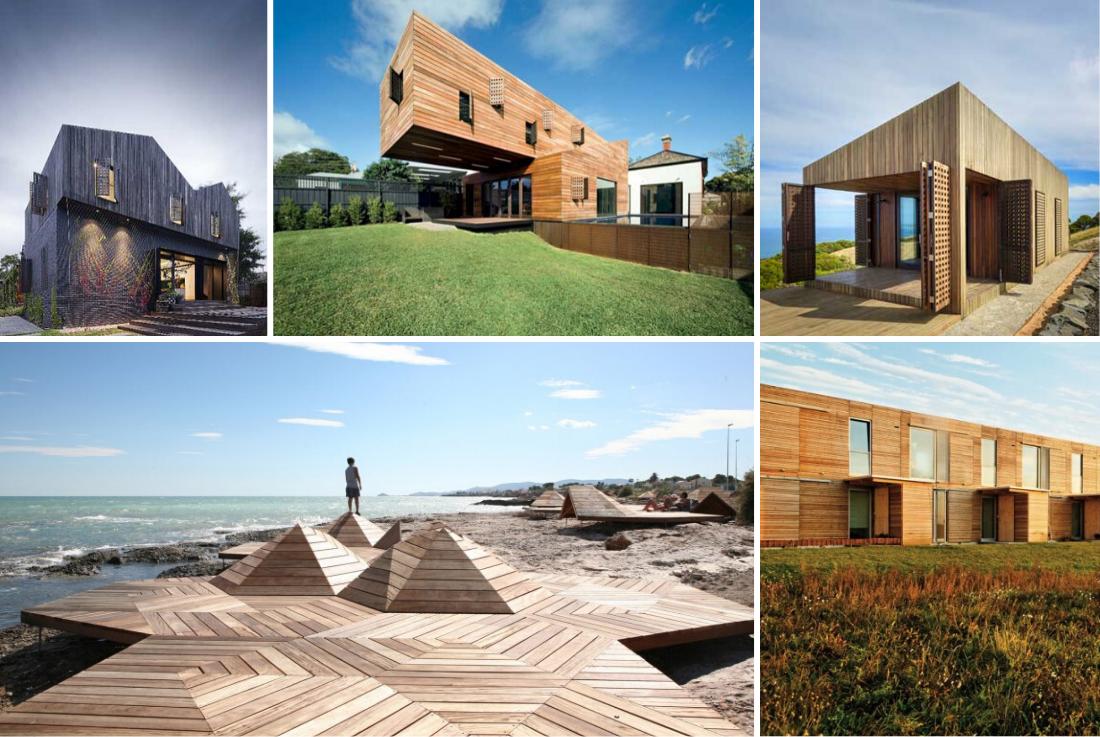 Arquitectura  con madera, la nueva alternativa sostenible