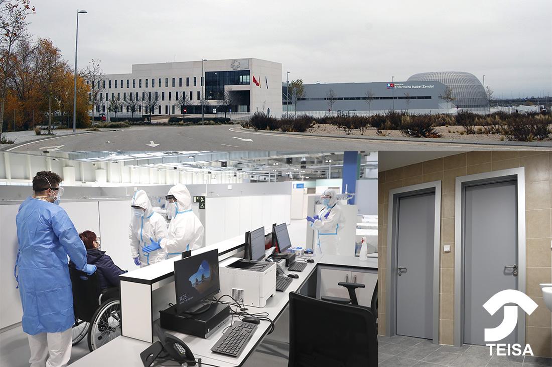 El Hospital de Emergencias Isabel Zendal, ejemplo de los hospitales post COVID