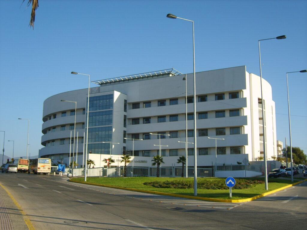 hospital de coquimbo en chile construccion teisa