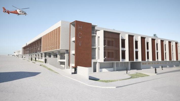 Hospital de San Antonio Chile construcción Teisa