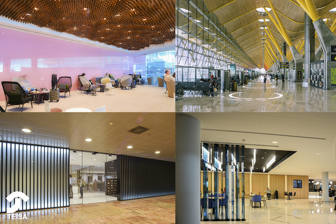 Mobiliario para Aeropuertos: Espacios y materiales más higiénicos y duraderos