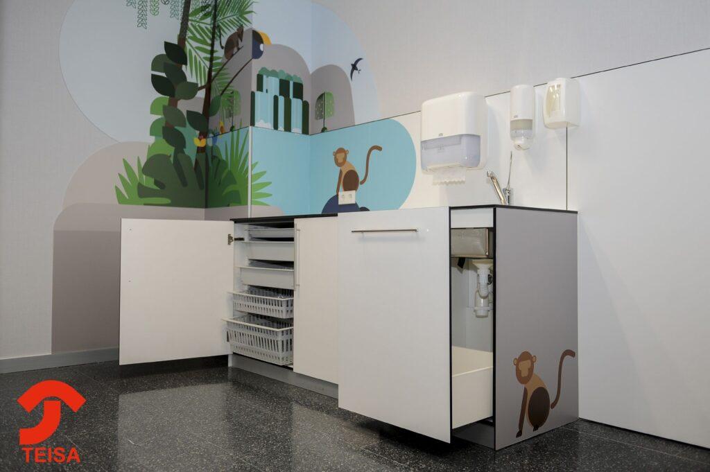 Mobiliario hospital