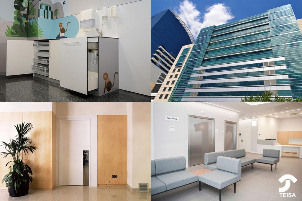 Mobiliario para hospitales